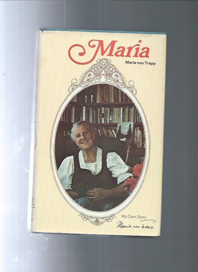 MARIA_my_own_story_Maria_Von_Trapp_Assez_bon_Couverture_rigide