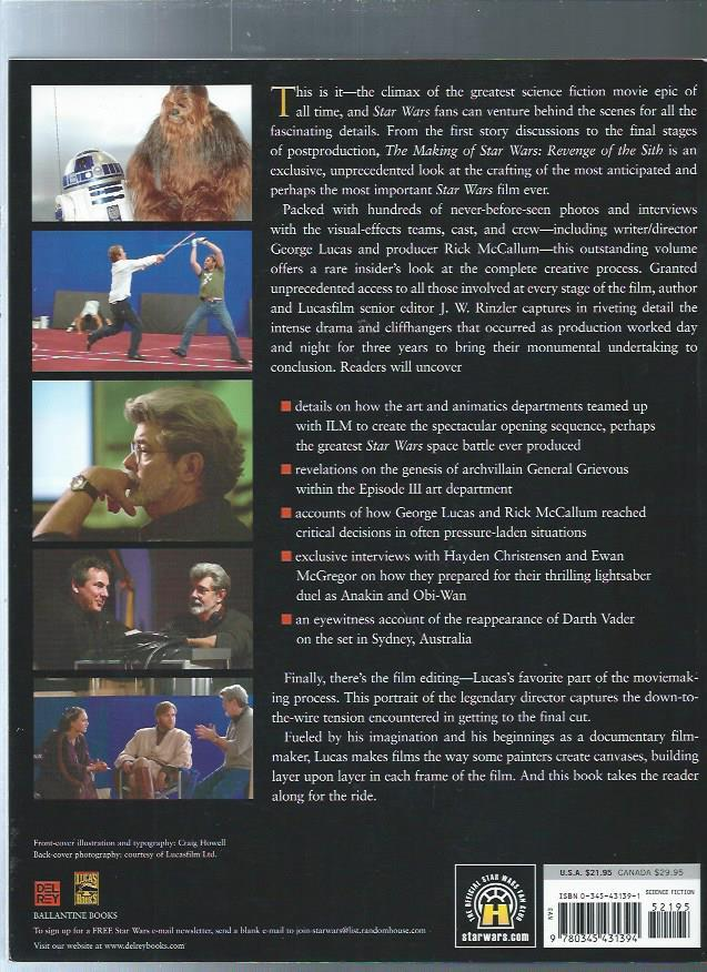 The Making of Star Wars, Episode III -