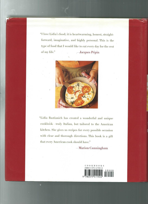 Lidia\'s Italian-American Kitchen by Bastianich, Lidia Matticchio ...