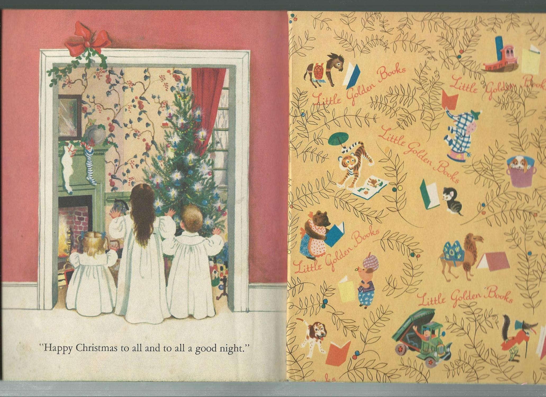 the night before christmas eloise wilkin illustby story by clement c moore