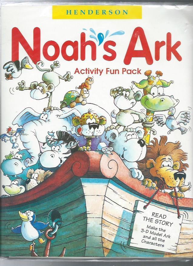 NOAH'S ARK : Activity Fun Pack/Storybook, 3