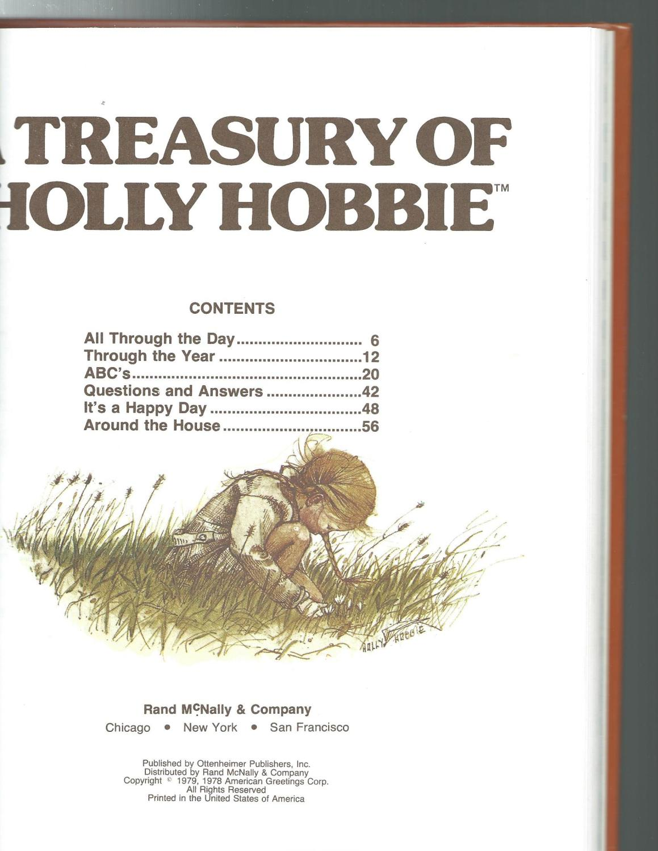 A Treasury Of Holly Hobbie By Holly Hobbie Rand Mcnally Co