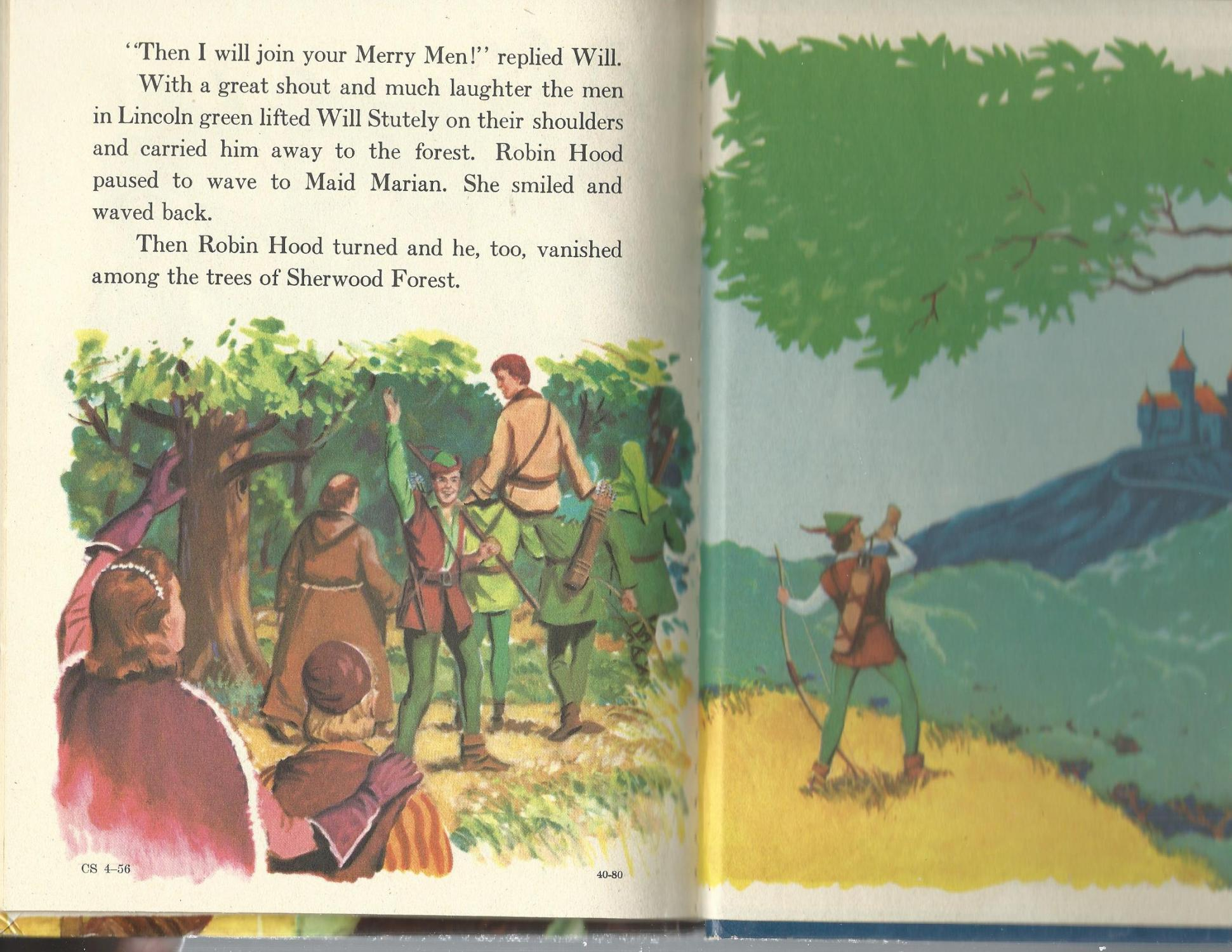 The Adventures of ROBIN HOOD and his merry