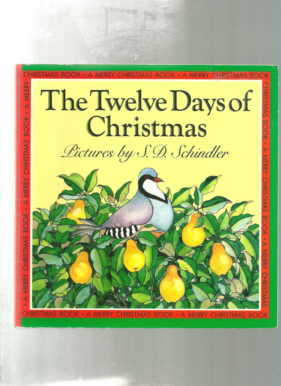 Twelve Days Of Christmas Book.The Twelve Days Of Christmas Merry