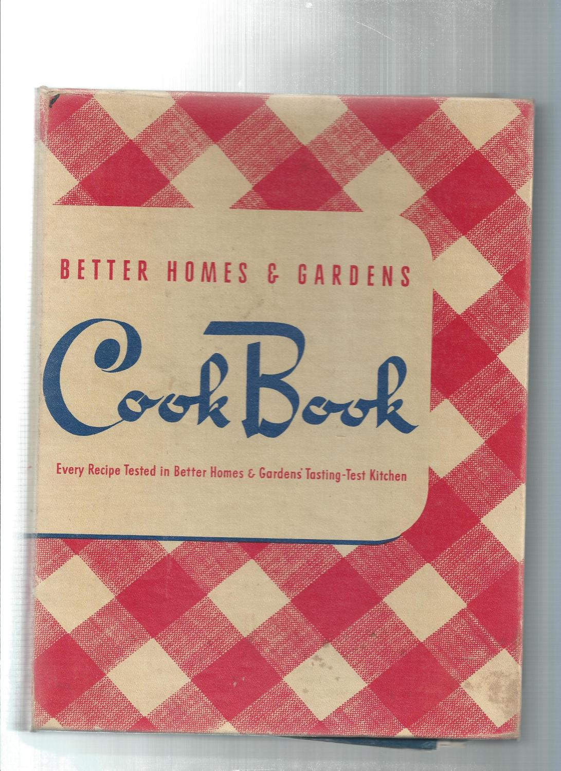 Better Homes And Gardens Test Kitchen Better Homes And Gardens Cookbook Abebooks