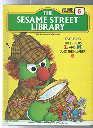 The Sesame Street Library vol 6 featuring the letters L and M and the number 6