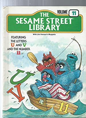 The Sesame Street Library vol 11 featuring the letters U and V and the number 11