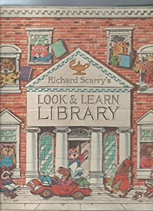 LOOK & LEARN LIBRARY 4 book set in slipcase