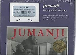 Jumanji book with Cassette sealed in box/plastic: Van Allsburg, Chris