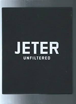 Jeter Unfiltered SIGNED NUMBERED in slipcase