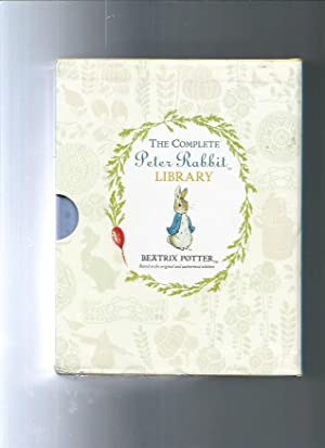 THE COMPLETE PETER RABBIT LIBRARY 23 books in slipcase