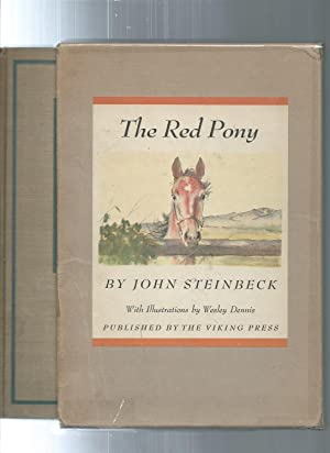 THE RED PONY illustrated edition in slipcase: John Steinbeck /