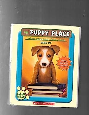 The Puppy Place Boxed Set, Books 1-5: Ellen Miles