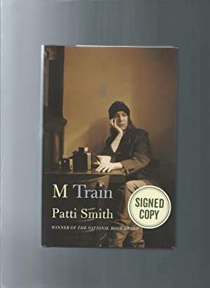 M TRAIN winner of the national book: Patti Smith