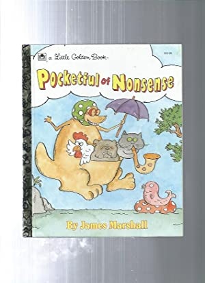 POCKETFUL OF NONSENSE (Little Golden Bks.): Marshall, James