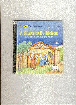 A STABLE IN BETHEHEM: a christmas counting: Hulme, Joey/ illust.by