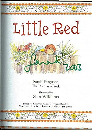 LITTLE RED with book promo: FERGUSON, SARAH THE