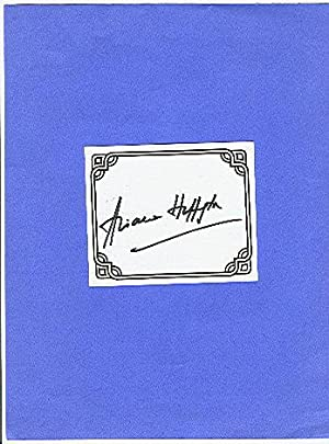 **SIGNED BOOKPLATES/AUTOGRAPHS by author ARIANNA HUFFINGTON**