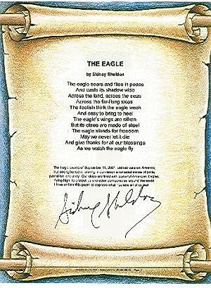 THE EAGLE a poem: Sheldon, Sidney
