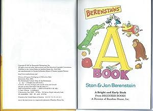 Berenstains' a Book: Berenstain, Stan;Berenstain, Jan