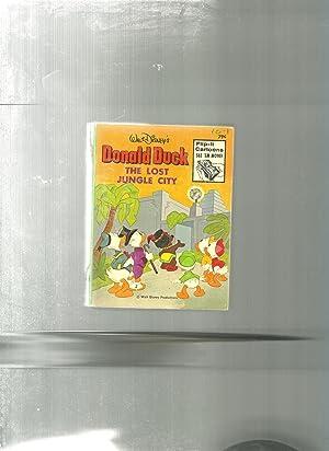 DONALD DUCK The Lost Jungle City: Disney, Walt