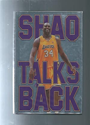 SHAQ TALKS BACK plus flyer/ticket from signing