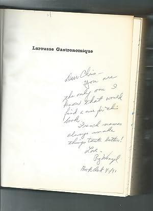 LAROUSSE GASTRONOMIQUE the encyclopedia of food wine: Montagne, Prosper