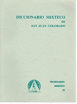 Diccionario mixteco de San Juan Colorado,: STARK CAMPBELL Sara,