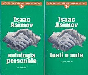 Antologia personale. Seguita da testi e note: ASIMOV Isaac,