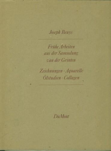 Frühe Arbeiten aus der Sammlung van der: Beuys, Joseph.