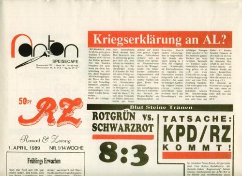 RZ Nr. 1-12.: KPD/RZ.