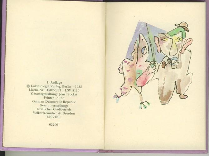 Kritzelbüchlein 1956. Hrsg. von Magdalena George.: Schwimmer, Max.