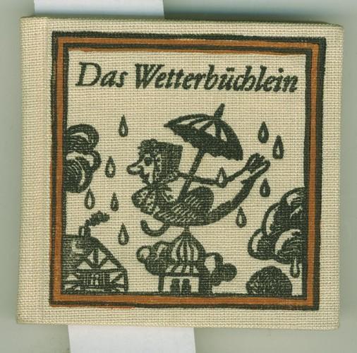 Sorbische Bauernregeln.: Das Wetterbüchlein.