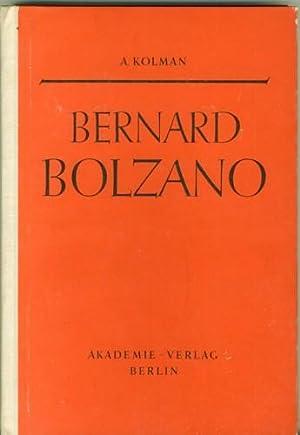 Bernard Bolzano mit einem Anhang. Rein analytischer: Kolman, Arnost.