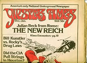 Dec.-Jan. 77-78. America s only National Underground: Yipster Times.