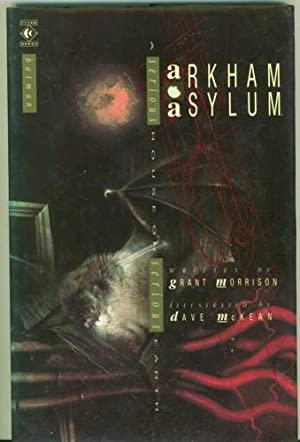 Arkham Asylum. Illustrated by Dave McKean.