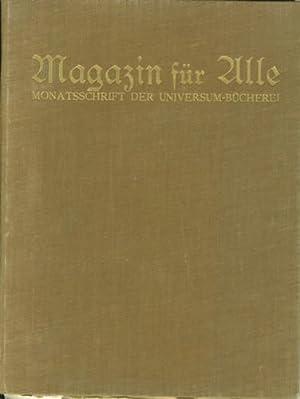 Zeitschrift der Universum-Bücherei für Alle. Heft 1-12. 1930.: Magazin für alle.