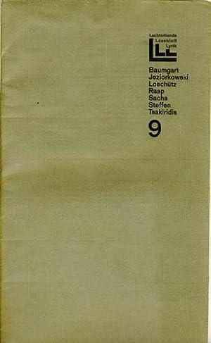 Hrsg. von Elisabeth Borchers, Günter Grass, Klaus: Luchterhands Loseblatt Lyrik.
