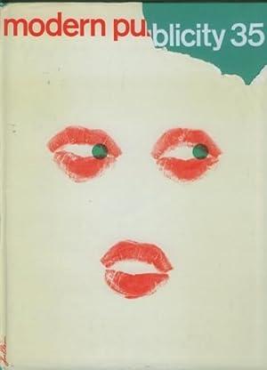 modern publicity 1965/6. Text in Englisch/Französisch/Deutsch.: Moody, Ella/Arthur Loockwood.