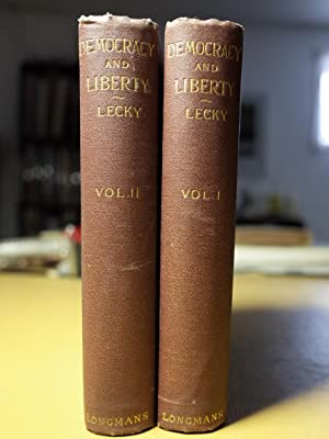 DEMOCRACY AND LIBERTY (Complete 2 Vols. Set)