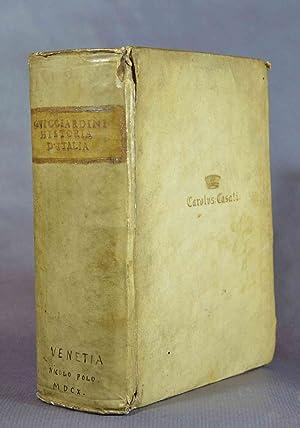 La Historia d'Italia, di M. Francesco Guicciardini: GUICCIARDINI (Francesco)