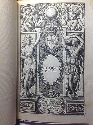 Eloge du Roy: HENRI IV] S. de MATTHIEU
