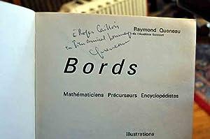 ENVOI AUTOGRAPHE A ROGER CAILLOIS - Bords. Mathématiciens. Précurseurs. Encyclop&...