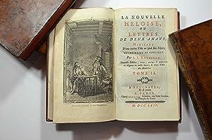 La nouvelle Héloïse, ou lettres de deux amans, habitans d'une petite ville au pied des Alpes.: ...