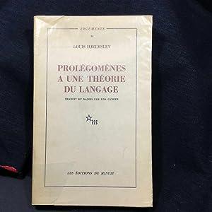 Prolégomène a une théorie du langage Traduit: HJELMSLEV (Louis)
