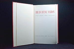 Le Bilan d une nation: DOS PASSOS John