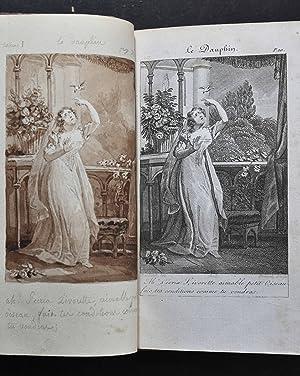 Le Troubadour, ou Les Etrennes d'Erato. Avec la musique des airs nouveaux choisis, ou compos&...