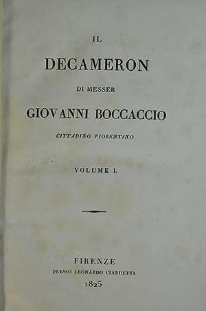 Il decameron di Messer Giovanni Boccaccio, Cittadino: Boccaccio