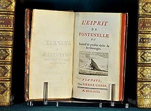 L'esprit de Fontenelle ou Recueil de pensée tirées de ses Ouvrages: Le Guay de ...
