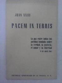 Las grandes encíclicas sociales. Pacem in Terris.: Juan XXIII